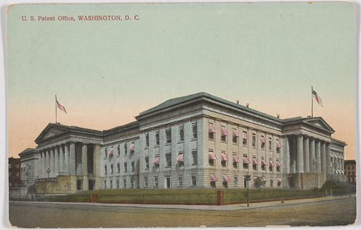 U. S. Patent Office, Washington, D. C. Date: 1920s. Record ID: npg_NPG.POB150.