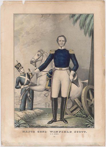 Winfield Scott. Sitter: Winfield Scott, 13 Jun 1786 – 29 May 1866. Date: 1840s. Record ID: npg_S_NPG.2002.185.