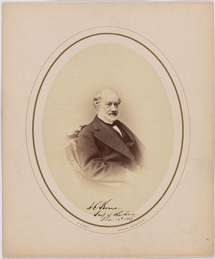 Adolph E. Borie. Sitter: Adolph Edward Borie, 25 Nov 1809 – 5 Feb 1880. Date: 1860s. Record ID: npg_S_NPG.2003.45.