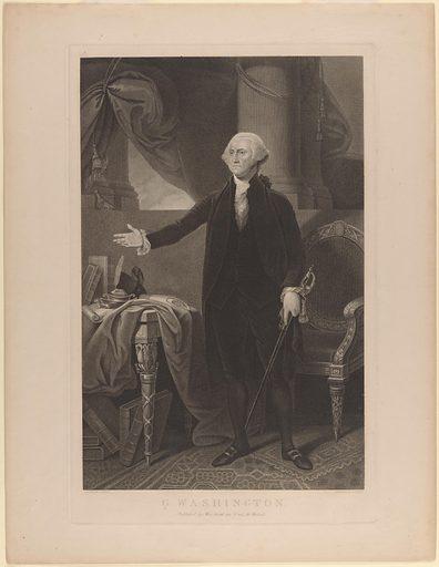 George Washington (Lansdowne type). Sitter: George Washington, 22 Feb 1732 – 14 Dec 1799. Date: 1800s. Record ID: npg_S_NPG.2003.77.