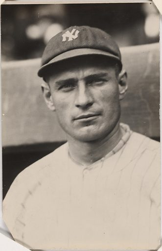 Wally Pipp. Sitter: Walter Clement Pipp, 1893 – 1965. Date: 1920s. Record ID: npg_S_NPG.2003.62.