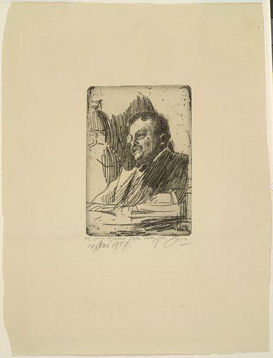Theodore Roosevelt. Sitter: Theodore Roosevelt, 27 Oct 1858 – 6 Jan 1919. Date: 1900s. Record ID: npg_NPG.2004.8.