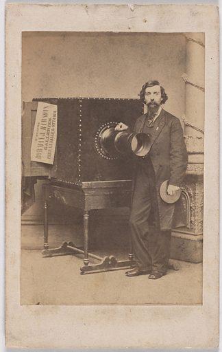 William E. Bowman. Sitter: William E. Bowman, 1834 – 1915. Date: 1860s. Record ID: npg_S_NPG.2007.29.