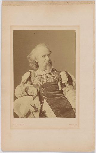 Gabriel Harrison. Sitter: Gabriel Harrison, 1818 – 1902. Date: 1880s. Record ID: npg_S_NPG.2007.73.