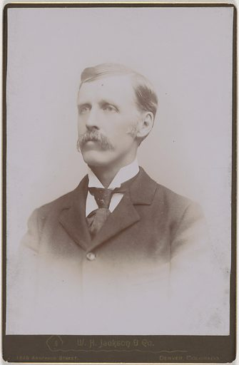 William Henry Jackson. Sitter: William Henry Jackson, 4 Apr 1843 – 30 Jun 1942. Date: 1880s. Record ID: npg_NPG.2007.78.