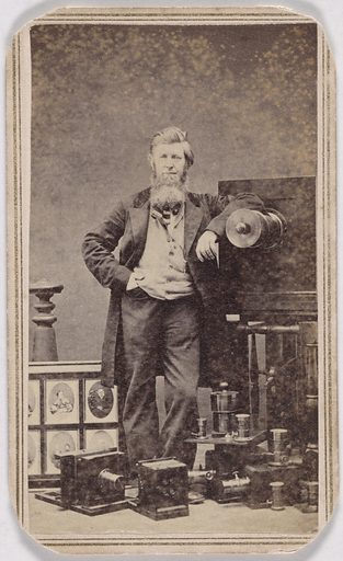 Edward D. Ritton. Sitter: Edward D. Ritton, 1823 – 1892. Date: 1860s. Record ID: npg_S_NPG.2007.99.