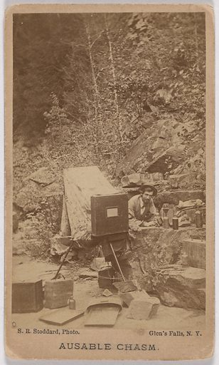 Seneca Ray Stoddard. Sitter: Seneca Ray Stoddard, 1844 – 1917. Date: 1860s. Record ID: npg_S_NPG.2007.112.