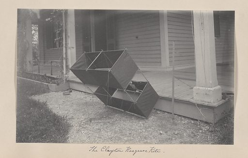 The Clayton-Hargrove Kite. Date: 1900s. Record ID: npg_AD_NPG.2007.9.