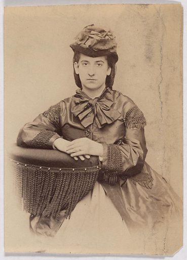 Carrie Gardner. Sitter: Carrie Gardner. Date: 1860s. Record ID: npg_S_NPG.2007.118.