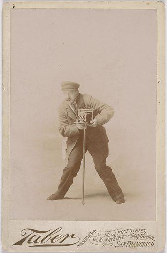 Isiah Taber. Sitter: Isaiah W. Taber, 1830 – 1912. Date: 1880s. Record ID: npg_S_NPG.2007.119.