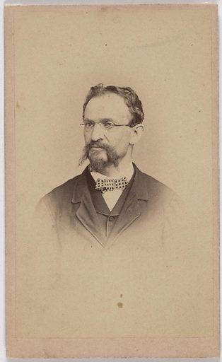 George Frederick D'Utassy. Sitter: Frederick George D'Utassy, 1827 – 5 May 1892. Date: 1880s. Record ID: npg_S_NPG.2007.120.