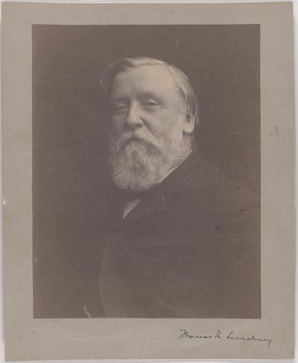 Thomas Lounsbury. Sitter: Thomas Raynesford Lounsbury, 1838 – 1915. Date: 1900s. Record ID: npg_S_NPG.2007.267.