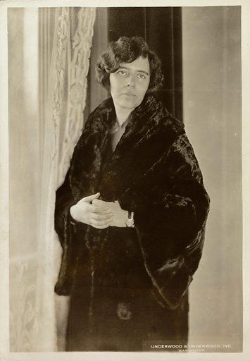 Alice Paul. Sitter: Alice Paul, 11 Jan 1885 – 9 Jul 1977. Date: 1920s. Record ID: npg_NPG.2007.288.