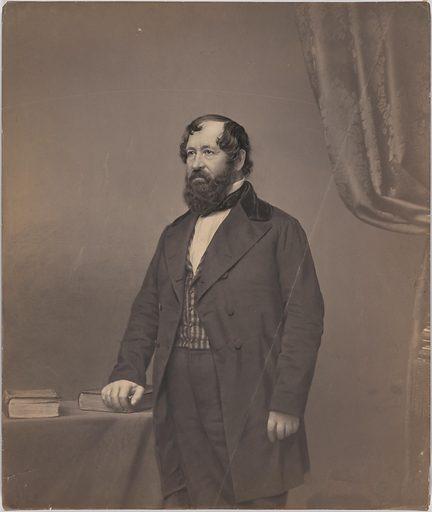 George Pope Morris. Sitter: George Pope Morris, 10 Oct 1802 – 6 Jul 1864. Date: 1850s. Record ID: npg_S_NPG.2007.313.