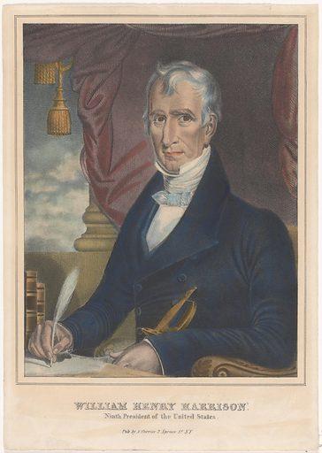 William Henry Harrison. Sitter: William Henry Harrison, 9 Feb 1773 – 4 Apr 1841. Date: 1830s. Record ID: npg_NPG.2008.27.
