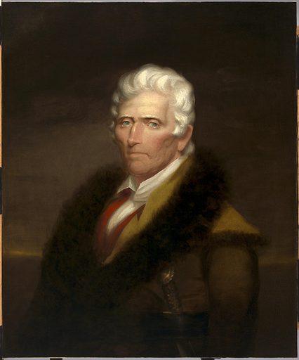 Daniel Boone. Sitter: Daniel Boone, 11 Feb 1734 – 26 Sep 1820. Date: 1820s. Record ID: npg_NPG.2015.102.