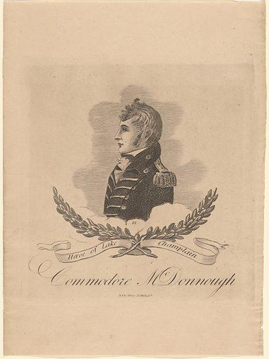 Thomas MacDonough. Sitter: Thomas MacDonough, 31 Dec 1783 – 10 Nov 1825. Date: 1810s. Record ID: npg_NPG.2015.18.