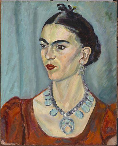 Frida Kahlo. Sitter: Frida Kahlo, 6 Jul 1907 – 13 Jul 1954. Date: 1930s. Record ID: npg_NPG.2015.136.