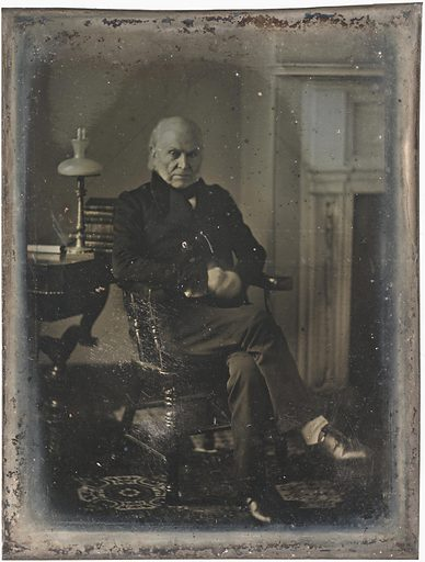 John Quincy Adams. Sitter: John Quincy Adams, 11 Jul 1767 – 23 Feb 1848. Date: 1840s. Record ID: npg_NPG.2017.110.