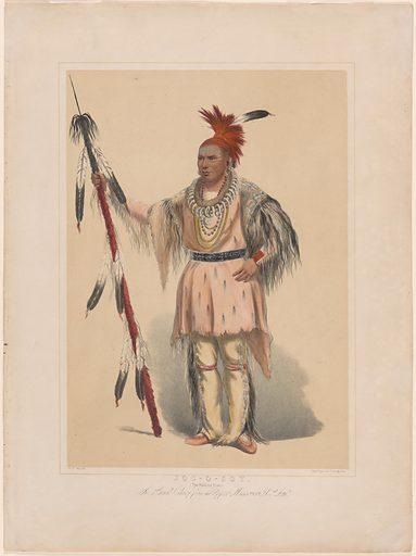 Joc-O-Sot. Sitter: Joc-O-Sot, c. 1810 – 1844. Date: 1880s. Record ID: npg_NPG.2018.12.