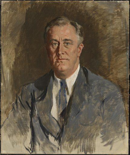 Franklin Delano Roosevelt. Sitter: Franklin Delano Roosevelt, 30 Jan 1882 – 12 Apr 1945. Date: 1920s. Record ID: npg_NPG.2018.71.