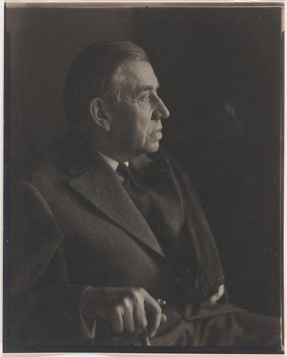 John Huston Finley. Sitter: John Huston Finley, 19 Oct 1863 – 7 Mar 1940. Date: 1940s. Record ID: npg_NPG.82.203.