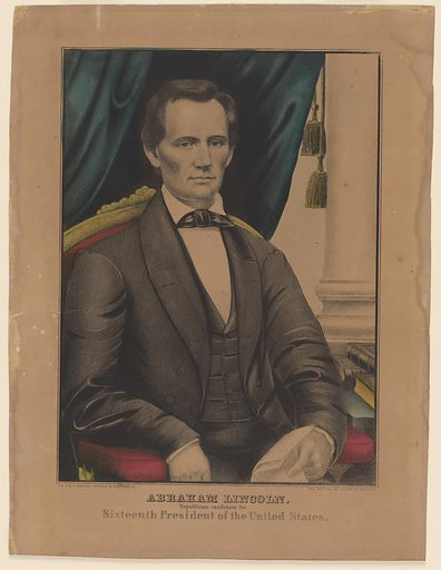 Abraham Lincoln. Sitter: Abraham Lincoln, 12 Feb 1809 – 15 Apr 1865. Date: 1860s. Record ID: npg_NPG.83.216.