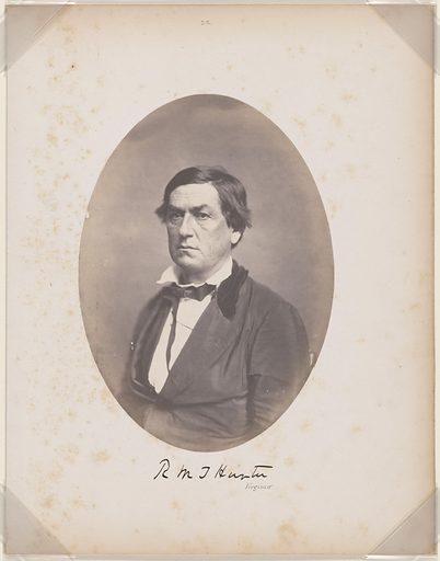Robert Mercer Taliaferro Hunter. Sitter: Robert Mercer Taliaferro Hunter, 21 Apr 1809 – 18 Jul 1887. Date: 1850s. Record ID: npg_NPG.87.42.19.