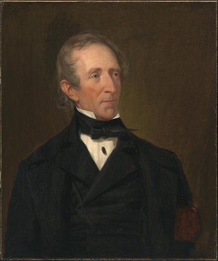 John Tyler. Sitter: John Tyler, 29 Mar 1790 – 18 Jan 1862. Date: 1840s. Record ID: npg_NPG.2019.13.