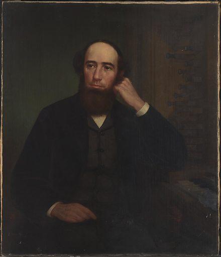 George Frederick Bristow. Sitter: George Frederick Bristow, 19 Dec 1825 – 13 Dec 1898. Date: 1860s. Record ID: npg_NPG.87.50.