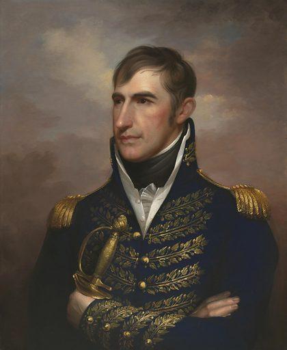 William Henry Harrison. Sitter: William Henry Harrison, 9 Feb 1773 – 4 Apr 1841. Date: 1810s. Record ID: npg_NPG.75.27.