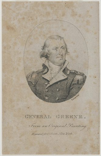 Nathanael Greene. Sitter: Nathanael Greene, 7 Aug 1742 – 19 Jun 1786. Date: 1790s. Record ID: npg_NPG.82.5.