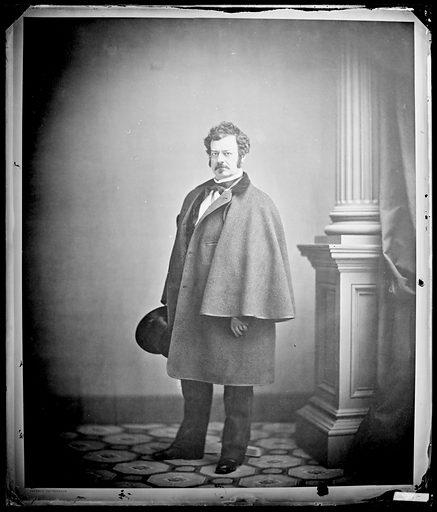 Edwin Forrest. Sitter: Edwin Forrest, 9 Mar 1806 – 12 Dec 1872. Date: 1850s. Record ID: npg_NPG.88.108.