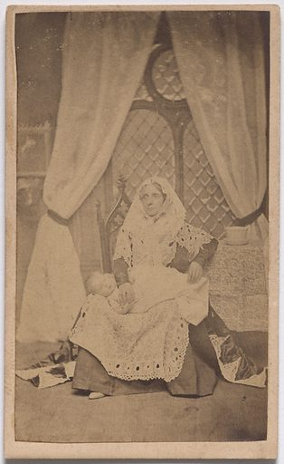 """The Infant from Shakespeare's """"Seven Ages"""" of Man. Date: 1850s. Record ID: npg_S_NPG.85.294.A."""