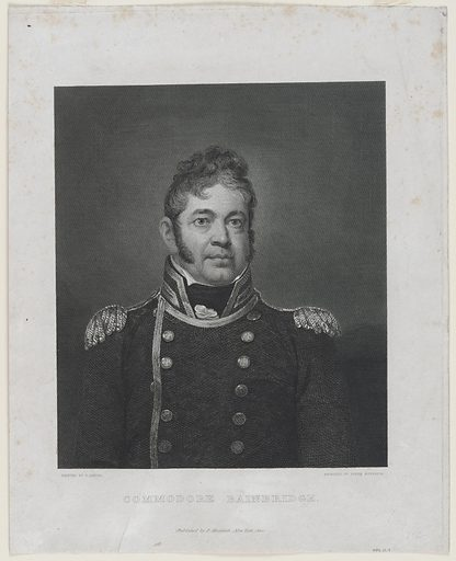 William Bainbridge. Sitter: William Bainbridge, 7 May 1774 – 27 Jul 1833. Date: 1810s. Record ID: npg_NPG.79.4.