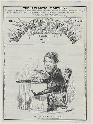 Oliver Wendell Holmes, Sr. Sitter: Oliver Wendell Holmes, Sr., 29 Aug 1809 – 7 Oct 1894. Date: 1860s. Record ID: npg_NPG.78.230.
