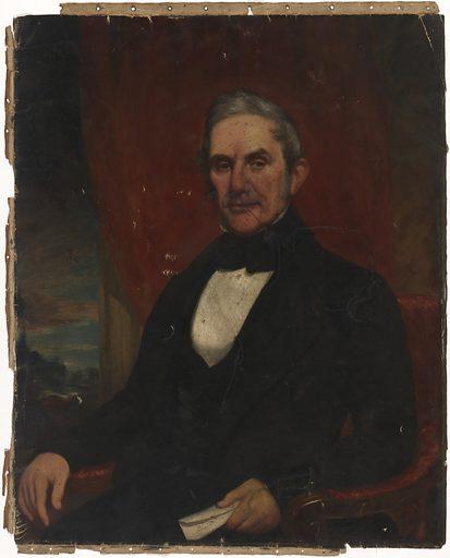 Anson Greene Phelps. Sitter: Anson Greene Phelps, 24 Mar 1781 – 30 Nov 1853. Date: 1850s. Record ID: npg_NPG.71.42.