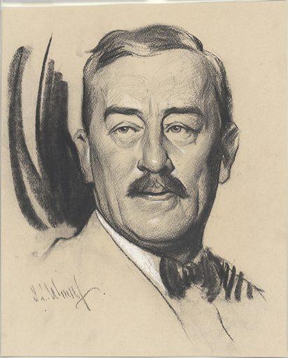 Ronald Lindsay. Sitter: Sir Ronald Charles Lindsay, 1877 – 1945. Date: 1920s. Record ID: npg_NPG.88.TC133.