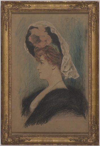 Lillian Russell. Sitter: Lillian Russell, 4 Dec 1861 – 6 Jun 1922. Date: 1940s. Record ID: npg_NPG.70.53.