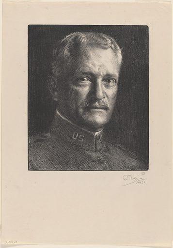 John Joseph Pershing. Sitter: John Joseph Pershing, 13 Sep 1860 – 15 Jul 1948. Date: 1910s. Record ID: npg_NPG.83.181.