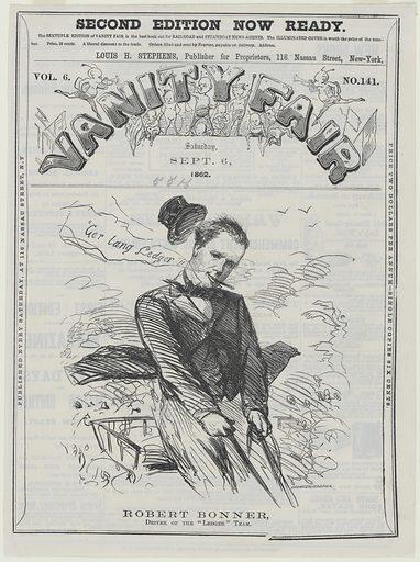 Robert Bonner. Sitter: Robert Bonner, 1824 – 1895. Date: 1860s. Record ID: npg_S_NPG.85.67.