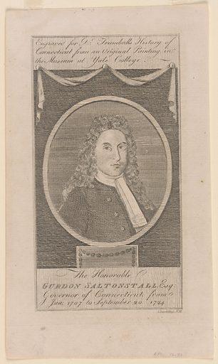 Gurdon Saltonstall. Sitter: Gurdon Saltonstall, c. 27 Mar 1666 – c. 20 Sep 1724. Date: 1790s. Record ID: npg_NPG.76.51.