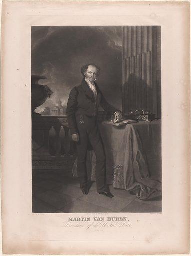 Martin Van Buren. Sitter: Martin Van Buren, 5 Dec 1782 – 24 Jul 1862. Date: 1830s. Record ID: npg_NPG.79.75.