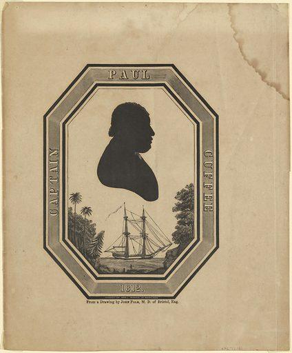 Paul Cuffee. Sitter: Paul Cuffee, 17 Jan 1759 – 7 Sep 1817. Date: 1810s. Record ID: npg_NPG.77.161.