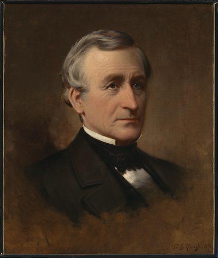 Charles Wilkes. Sitter: Charles Wilkes, 3 Apr 1798 – 8 Feb 1877. Date: 1870s. Record ID: npg_NPG.67.63.