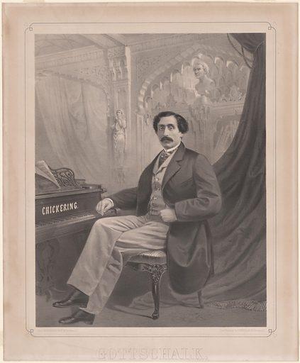 Louis Moreau Gottschalk. Sitter: Louis Moreau Gottschalk, 8 May 1829 – 18 Dec 1869. Date: 1850s. Record ID: npg_NPG.86.33.