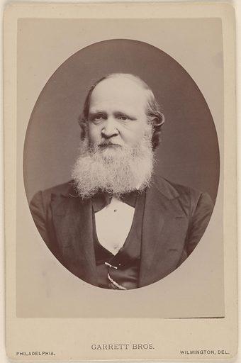 William Dwight Whitney. Sitter: William Dwight Whitney, 9 Feb 1827 – 7 Jun 1894. Date: 1860s. Record ID: npg_NPG.78.169.