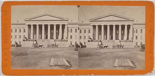 U.S. Patent Office, South Entrance. Date: 1860s. Record ID: npg_NPG.POB73.