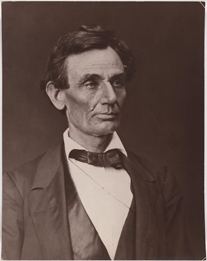 Abraham Lincoln. Sitter: Abraham Lincoln, 12 Feb 1809 – 15 Apr 1865. Date: 1860s. Record ID: npg_NPG.2014.27.