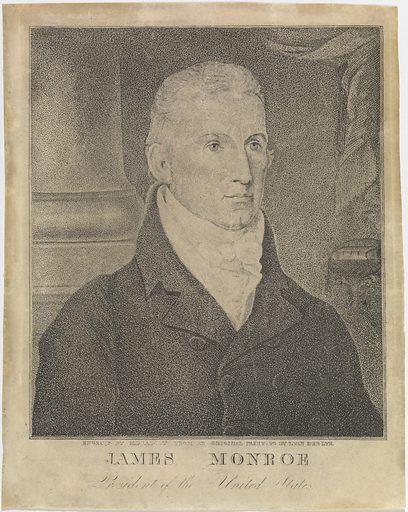 James Monroe. Sitter: James Monroe, 28 Apr 1758 – 4 Jul 1831. Date: 1810s. Record ID: npg_NPG.85.135.